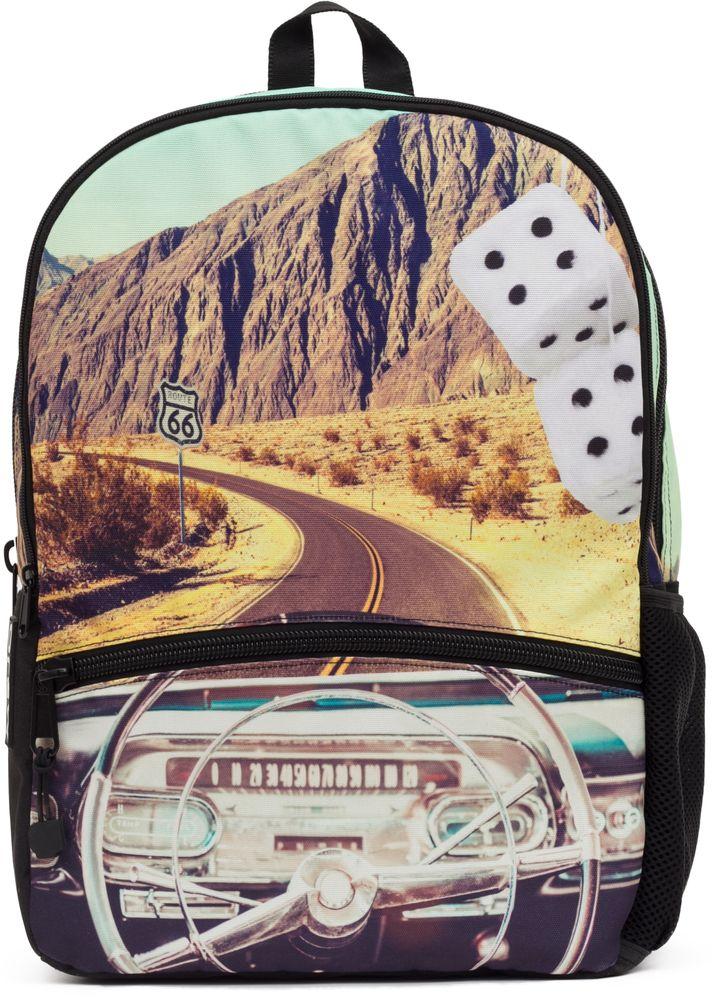 Рюкзак городской Mojo Pax Classic Crusin, 20 лH009ОТПРАВЛЯЙСЯ В ПУТЬ — НАВСТРЕЧУ ПРИКЛЮЧЕНИЯМ!Пустынная дорога, знак, предостерегающий путешественника и могущественный каньон. Этот рюкзак от Mojo — для тех, кто привык размышлять и видеть в простых вещах — сложные. Принт приятного спокойного оттенка смотрится еще более загадочно и притягательно. Рюкзак имеет несколько удобных отделений, в том числе — карман для планшетного компьютера.