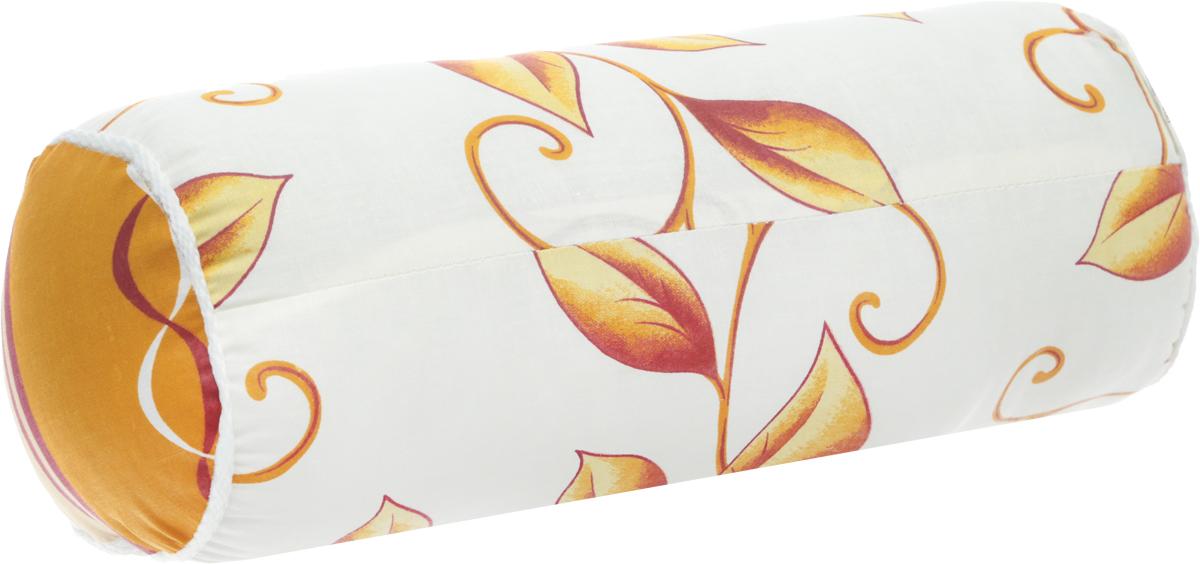 Подушка декоративная Ecotex Бочонок, наполнитель: полиэстер, цвет: белый, коричневый, бежевый, 36 х 17 х 17 см12245Декоративная подушка Ecotex Бочонок прекрасно дополнит интерьер спальни или гостиной. Чехол подушки выполнен из полиэстера. Внутри находится мягкий наполнитель - 100% полиэстер. Благодаря молнии, чехол легко снимается.Основные особеннности подушки Ecotex Бочонок:- экологичность;- гигиеничность: не впитывает запахи и пыль;- теплоизоляция и воздухопроницаемость;- долговечность: в течение долгого времени сохраняет объем и упругость;- легкость в уходе: легко стирается, быстро сохнет.