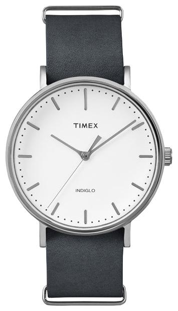 Наручные часы женские Timex Weekender, цвет: серебряный. TW2P91300BM8434-58AEКорпус 41 мм с покрытием cеребристого цвета, на ремне из натуральной кожи с возможностью фиксации корпуса под размер запястья;минеральное стекло;аналоговый циферблат белого цвета, индексы;подсветка INDIGLO;водозащита 3 AТМ.