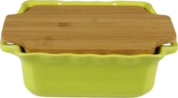 Форма для выпечки Appolia Cook&Stock, квадратная, с доской, цвет: светло-зеленый, 1,8 л300194_сиреневый/грушаВ оригинальной коллекции Cook&Stoock присутствуют мягкие цвета трех оттенков. Закругленные углы облегчают чистку. Легко использовать. Компактное хранение. В комплекте натуральные крышки из бамбука, которые можно использовать в качестве подставки, крышки и разделочной доски. Прочная жароустойчивая керамика экологична и изготавливается из высококачественной глины. Прочная глазурь устойчива к растрескиванию и сколам, не содержит свинца и кадмия. Глина обеспечивает медленный и равномерный нагрев, деликатное приготовление с сохранением всех питательных веществ и витаминов, а та же долго сохраняет тепло, что удобно при сервировке горячих блюд.