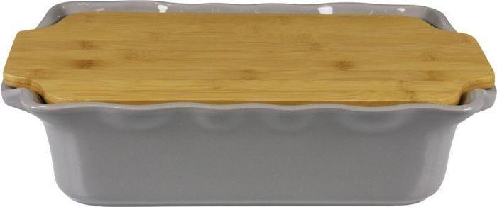 Форма для выпечки Appolia Cook&Stock, прямоугольная, с доской, цвет: темно-серый, 3,7 л94672В оригинальной коллекции Cook&Stoock присутствуют мягкие цвета трех оттенков. Закругленные углы облегчают чистку. Легко использовать. Компактное хранение. В комплекте натуральные крышки из бамбука, которые можно использовать в качестве подставки, крышки и разделочной доски. Прочная жароустойчивая керамика экологична и изготавливается из высококачественной глины. Прочная глазурь устойчива к растрескиванию и сколам, не содержит свинца и кадмия. Глина обеспечивает медленный и равномерный нагрев, деликатное приготовление с сохранением всех питательных веществ и витаминов, а та же долго сохраняет тепло, что удобно при сервировке горячих блюд.