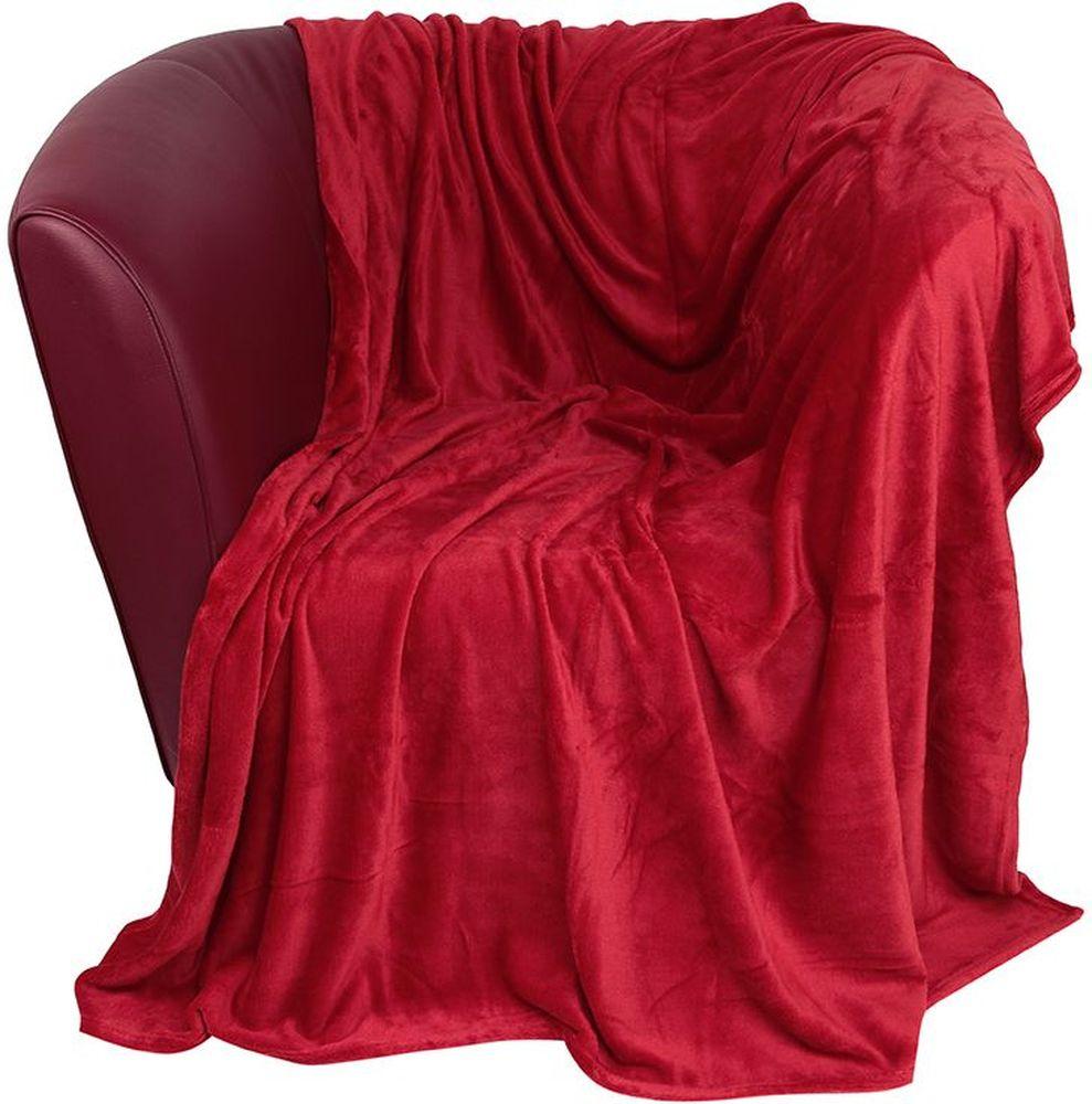 Плед EL Casa, цвет: красный, 150 х 200 см96515412Уютный, легкий и прочный плед в оригинальном дизайне послужит украшением декора вашей комнаты и согреет вас и ваших близких. Устойчив к истиранию и скатыванию, не мнется, не деформируется, сохранит первоначальный вид даже при активном использовании и многочисленных стирках. Такой плед идеален в качестве подарка на любой праздник. Изделие в подарочной сумке с ручками.