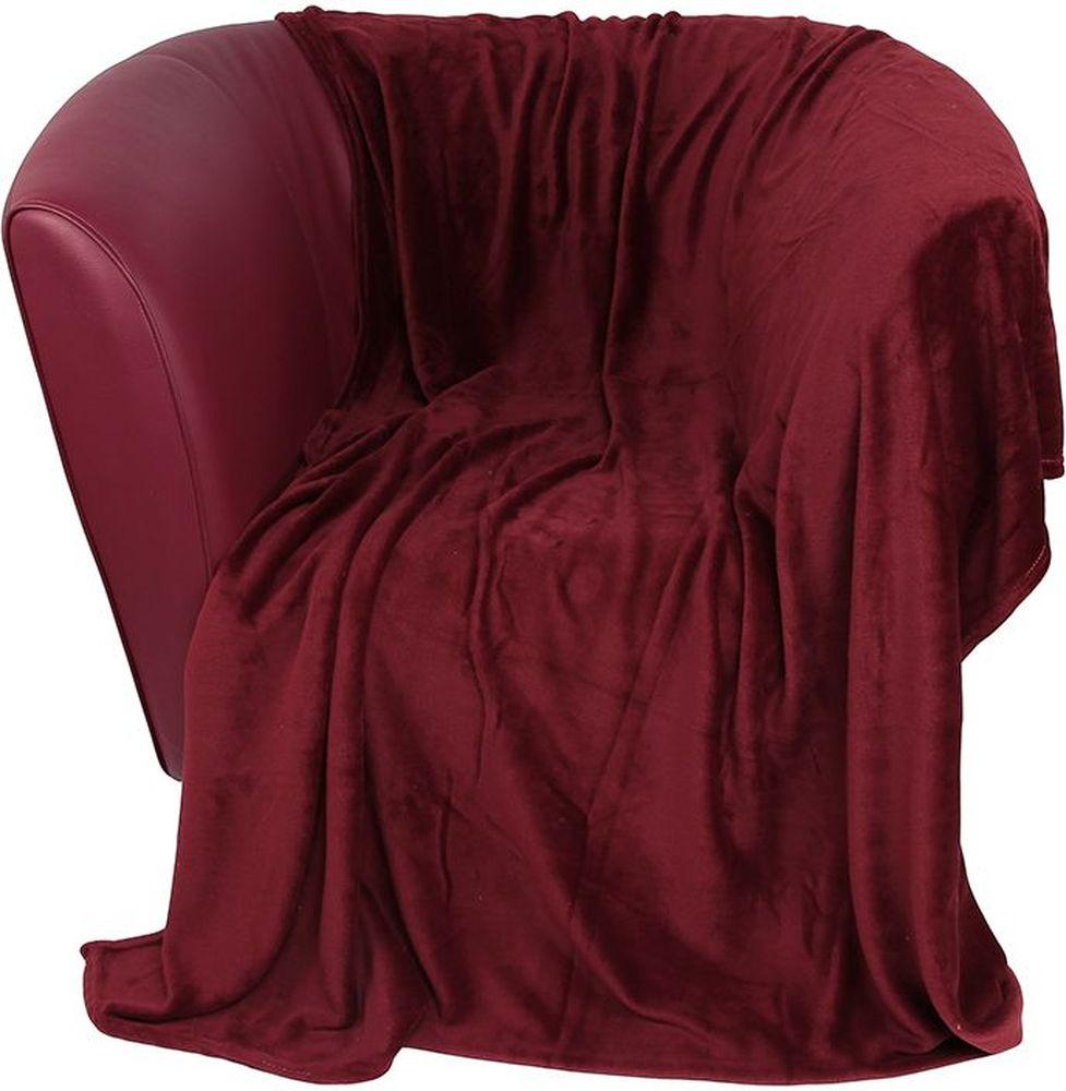 Плед EL Casa, цвет: бордовый, 200 х 230 см96515412Уютный, легкий и прочный плед в оригинальном дизайне послужит украшением декора вашей комнаты и согреет вас и ваших близких. Устойчив к истиранию и скатыванию, не мнется, не деформируется, сохранит первоначальный вид даже при активном использовании и многочисленных стирках. Такой плед идеален в качестве подарка на любой праздник. Изделие в подарочной сумке с ручками.