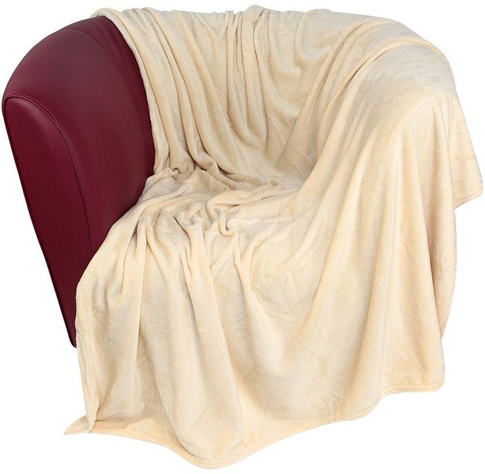 Плед EL Casa, цвет: бежевый, 200 х 230 см96515412Уютный, легкий и прочный плед в оригинальном дизайне послужит украшением декора вашей комнаты и согреет вас и ваших близких. Устойчив к истиранию и скатыванию, не мнется, не деформируется, сохранит первоначальный вид даже при активном использовании и многочисленных стирках. Такой плед идеален в качестве подарка на любой праздник. Изделие в подарочной сумке с ручками.