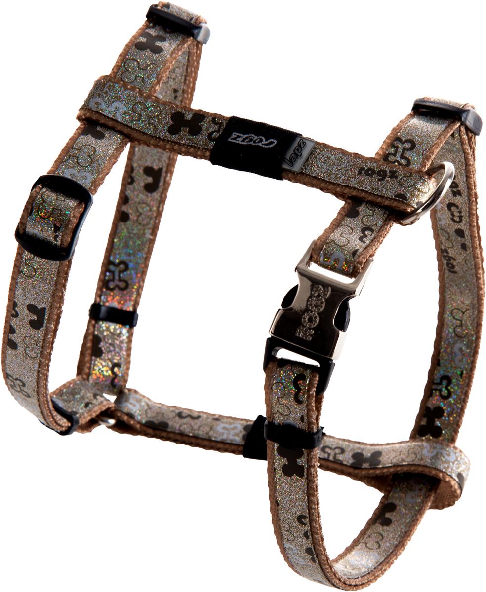 Шлейка для собак Rogz Trendy, ширина 1,2 см. Размер S. SJ521J0120710Веселый и яркий дизайн.Нежнейшая мягкость и гибкость.Светоотражающие материалы для обеспечения лучшей видимости собаки в темное время суток.Материалы: 100 % полиэстер, полиуретан,металл, пластик. Полотно: 100% полиэстер, полиуретан. Пряжка: металл, пластик