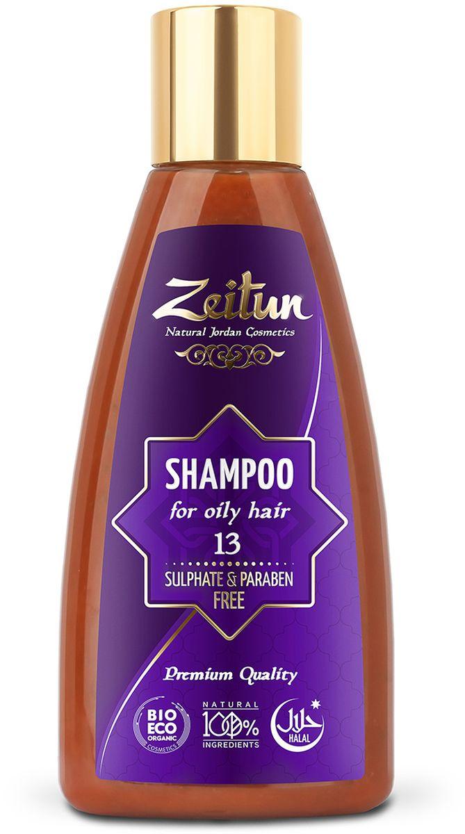 Зейтун Шампунь №13 для жирных волос, 150 млFS-00103Натуральный шампунь для жирных волос с содержанием глины Байлун, благодаря которой регулируется секреция сальных желез, что нормализует жирность волос. Натуральный шампунь хорошо очищает кожу головы и волосы, благодаря дополнительным маслам и экстрактам в составе питает волосы, оздоравливает их, насыщая необходимыми микроэлементами.