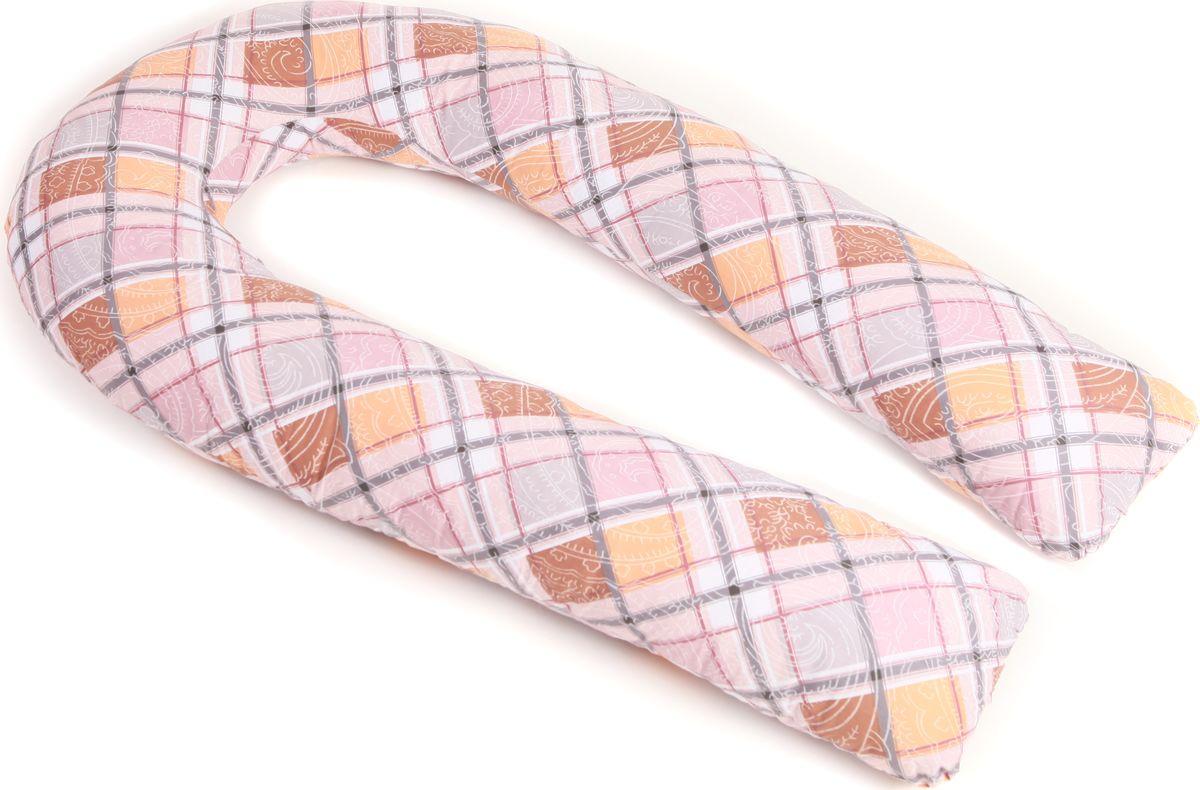 Body Pillow Наволочка для U-образной подушки цвет мультиколор 90 х 150 см10503Наволочка Body Pillow идеально подойдет для подушки для беременных и кормящих U-образной формы 90 х 150 см.Съемная наволочка изготовлена на молнии с оригинальной расцветкой Разноцветный Квадрат. Состав: 80% хлопок, 20% микрофибра.