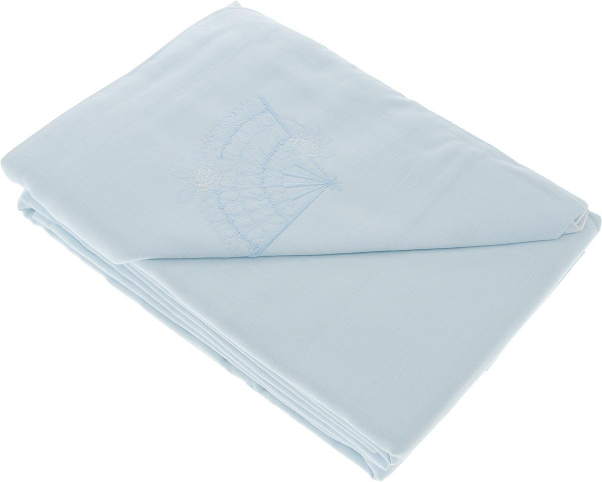 Комплект белья Гаврилов-Ямский Лен Веер, 2-спальный, наволочки 70х70, цвет: голубойS03301004Комплект постельного белья Гаврилов-Ямский Лен выполнен из 100% льна и оформлен вышивкой в виде веера. Комплект состоит из пододеяльника, простыни и двух наволочек. Постельное белье имеет изысканный внешний вид. Постельное белье изо льна обладает гигроскопичностью, хорошо впитывает влагу, быстро сохнет и способно выдерживать большое количество стирок. Благодаря такому комплекту постельного белья вы сможете создать атмосферу роскоши и романтики в вашей спальне.