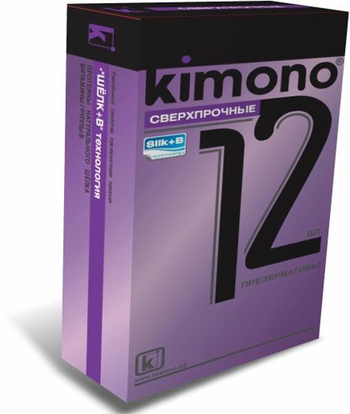 Kimono презервативы сверхпрочные, 12 штSW 283KIMONO Сверхпрочные, утолщённые стенки этих презервативов, готовы выдержать любые испытания, обильная смазка поможет сохранить комфорт. Гладкие презервативы в силиконовой смазке с накопителем. Произведены из отборного латекса, при изготовлении использованы самые современные технологии производства и контроля качества на всех этапах. Каждый презерватив проверен электроникой. Только для одноразового использования. Презервативы KIMONO при правильном использовании, обеспечивают надёжную защиту от нежелательной беременности и заболеваний передающихся половым путём в том числе и ВИЧ. Ни одно средство предохранения не гарантирует 100% защиты. Перед использованием необходимо ознакомится с инструкцией внутри упаковки. Фасовка презервативов KIMONO №12 Сверхпрочные: в одном блоке (шоу-боксе) 12 упаковок, в каждой упаковке 12 презервативов.