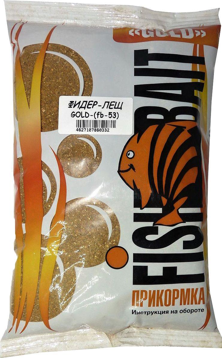 Прикормка для рыб FishBait Gold Фидер Лещ, 1 кгH009Прикормка серия Gold Фидер Лещ 1кг. Серия Gold имеет сбалансированный состав для определенных видов рыб. Рекомендована для опытных рыболовов и спортсменов. Серия Gold делится по видам: Лещ, Карп, Карась, Плотва. Виды отличаются составом, фракцией, запахом, цветом и т.д.Серия Gold уже поделена по видам рыб, эта серия рекомендована более притензиозным рыболовам в вопросе прикормки. Поэтому по вязкости она одинаковая, ну или почти одинаковая, а вот по цвету, ароматам, вкусу, отличается, и эти отличия подбирались с учетом конкретного вида, который написан на пакете. Gold 1 кг. Фидер Лещ - Прикормка светло коричневого цвета с выраженным ароматом корицы. Прикормка среднего помола и вязкости, образующая в воде мутное облако, привлекающее леща с больших расстояний. Цвет: Светло-Коричневый Аромат : Сладкий