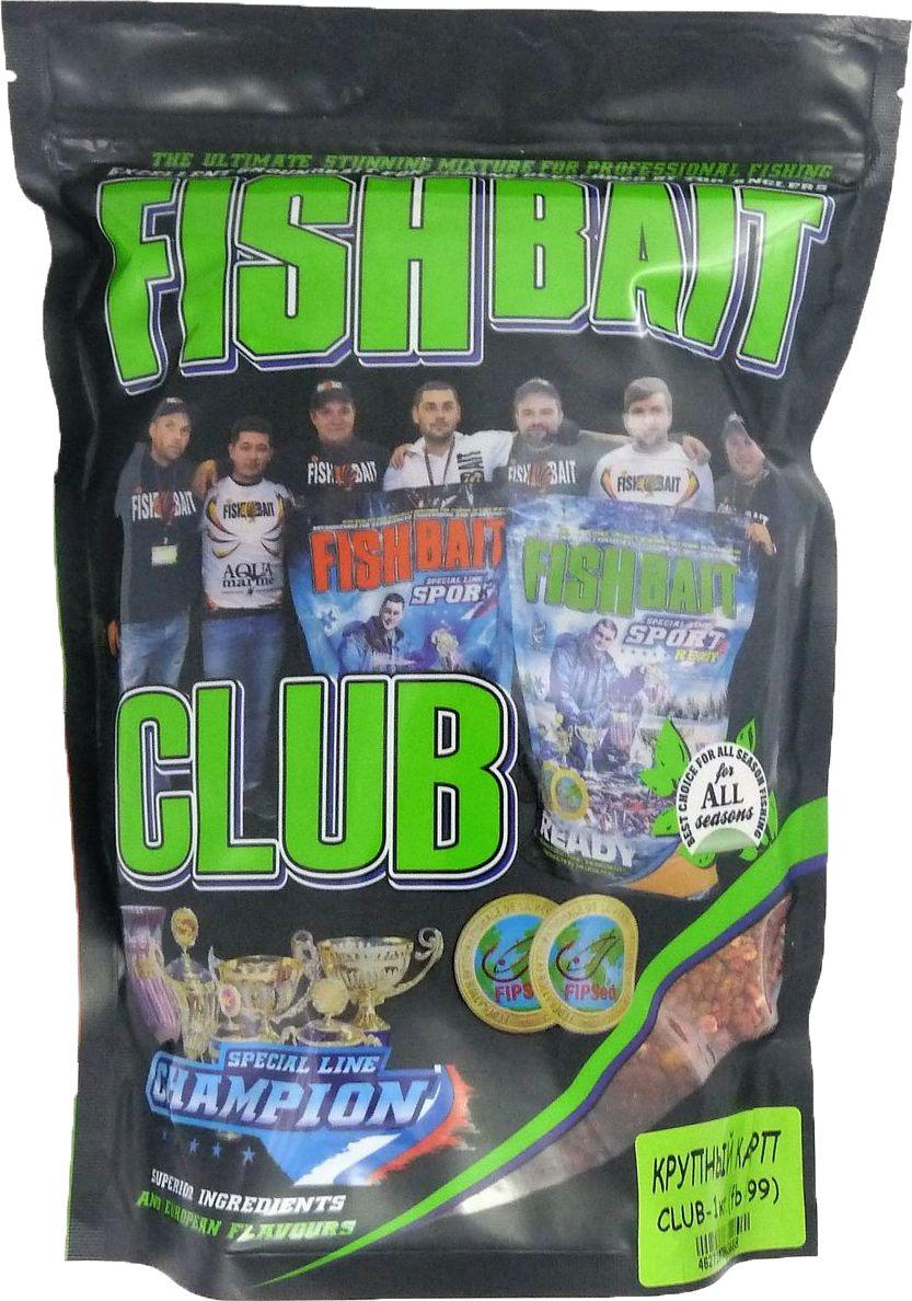 Прикормка для рыб FishBait Club Крупный Карп, 1 кг95942-530Прикормка FishBait Club BIG Carp - Крупный Карп 1кг. Прикормка FishBait Club . Прикормочные смеси из самых высококачественного ингредиентов. Полностью самодостаточная прикормка, насыщенная ароматами и вкусовыми добавками. Фасовка 1 кг. Упаковка ZIP-LOCK