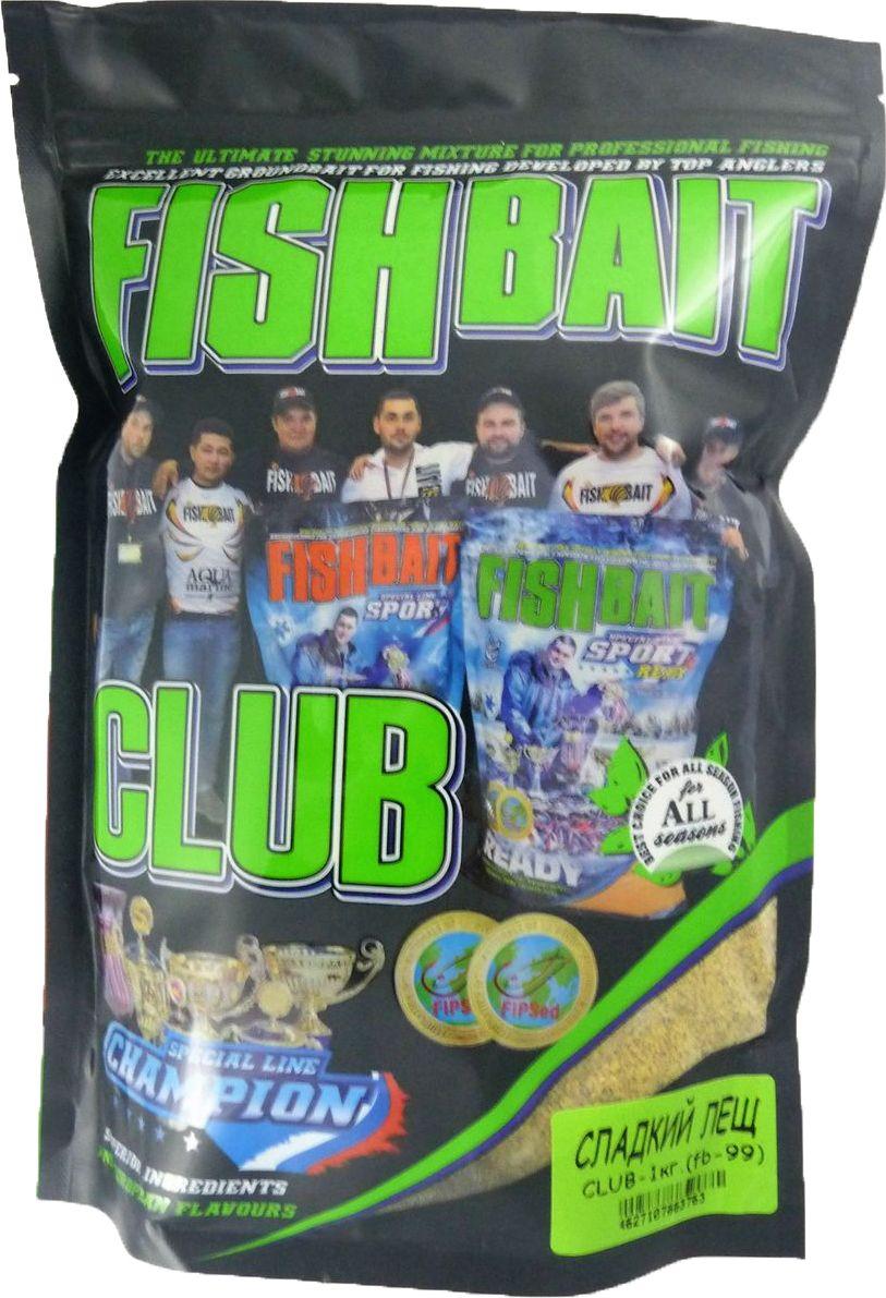 Прикормка для рыб FishBait Club Сладкий Лещ, 1 кгMABLSEH10001Прикормка FishBait Club Sweet Bream - Сладкий Лещ 1кг. Прикормочные смеси из самых высококачественного ингредиентов. Полностью самодостаточная прикормка, насыщенная ароматами и вкусовыми добавками. Фасовка 1 кг. Упаковка ZIP-LOCK