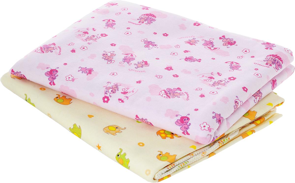 Фреш Стайл Комплект пеленок цвет розовый бежевый 90 х 130 см 2 шт1-2Хлопковые пеленки Фреш Стайл подходят для пеленания ребенка с самого рождения.Мягкая ткань укутывает малыша с необычайной нежностью. Такая ткань прекрасно дышит, она гипоаллергенна, обладает повышенными теплоизоляционными свойствами и не теряет формы после стирки.Пеленку также можно использовать как легкое одеяло, простынку, полотенце после купания, накидку для кормления грудью.В комплект входят две пеленки.Предварительная стирка обязательна. Стрика при 40 °C, гладить при температуре не выше 150 °C, можно отжимать и сушить в стиральной машине, не отбеливать, не подвергать химчистке.