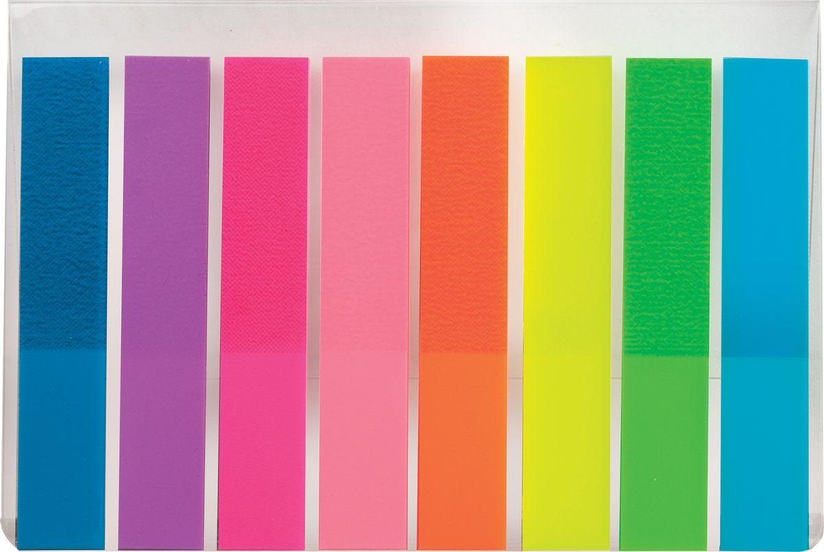 Brauberg Закладки самоклеящиеся 8 цветовFS-00897Яркие закладки акцентируют внимание на важных страницах книги, журнала, каталога и др.