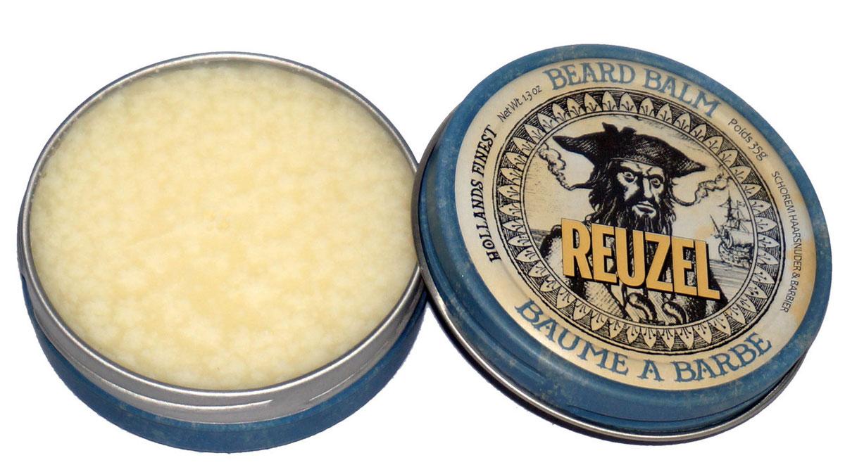 Reuzel бальзам для бороды 35гр6800Многоцелевой бальзам с мужественным ароматом с маслом Ши для ухода за бородой и укладки волос от легкой до средней фиксации.