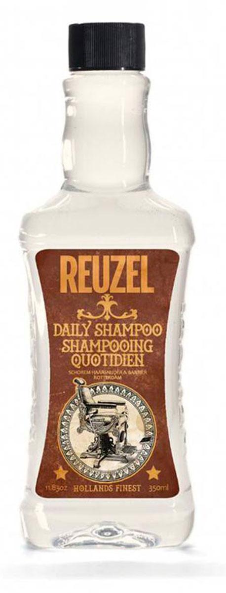 Reuzel ежедневный шампунь для волос 350млFS-00897Концентрированный шампунь с тонизирующим настоем гамамелиса, листьев крапивы, розмарина и корня хвоща обеспечивает эффективное очищение и увлажнение волос и кожи головы. Охлаждает и тонизирует, стимулирует микроциркуляцию кожи головы. Подходит для всех типов волос. Предназначен для ежедневного использования.