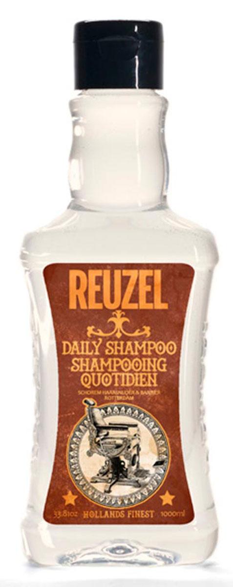 Reuzel ежедневный шампунь для волос 1000млFS-00103Концентрированный шампунь с тонизирующим настоем гамамелиса, листьев крапивы, розмарина и корня хвоща обеспечивает эффективное очищение и увлажнение волос и кожи головы. Охлаждает и тонизирует, стимулирует микроциркуляцию кожи головы. Подходит для всех типов волос. Предназначен для ежедневного использования.