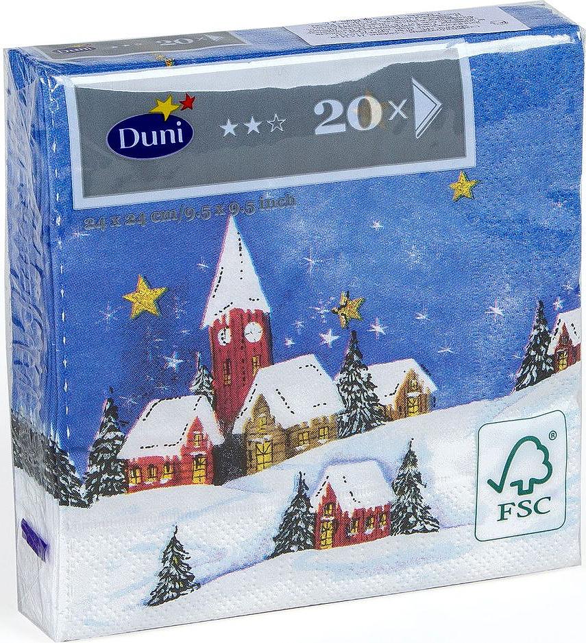 Салфетки бумажные Duni Snowscape, 3-слойные, 24 х 24 см19201Многослойные бумажные салфетки изготовлены из экологически чистого, высококачественного сырья - 100% целлюлозы. Салфетки выполнены в оригинальном и современном стиле, прекрасно сочетаются с любым интерьером и всегда будут прекрасным и незаменимым украшением стола.