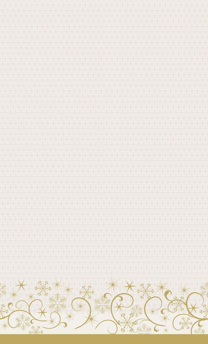 Скатерть одноразовая Dunicel Ornate Xmas Cream, цвет: светло-бежевый, 138 х 220 см19201Скатерть бумажная одноразовая DUNI выполнена из высокачественной бумаги, оформлена оригинальным узором.Бумажная скатерть будет незаменимым аксессуаром при оформлении праздников, организации пикников на природе, детских мероприятиях.