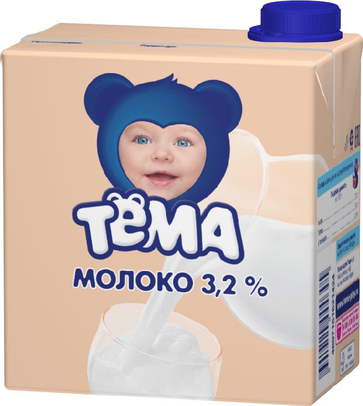 Тема Молоко 3,2%, 500 мл0120710Молоко питьевое ультрапастеризованное с массовой долей жира 3,2% для питания детей раннего возраста. Детское молоко можно сделать частью ежедневного рациона ребенка, ведь оно содержит более 200 разновидных органических и минеральных веществ, которые влияют на рост и развитие детского организма. Молоко способствует укреплению иммунитета, улучшению обмена веществ и росту ребенка. Молоко можно использовать и как основу для приготовление каши, чтобы она получилась полезной и вкусной. Кальций - залог здоровых костей и зубов, для роста и развития. Пищевая ценность на 100 г:белок 3,0 гжир 3,2 гуглеводы 4,7 г