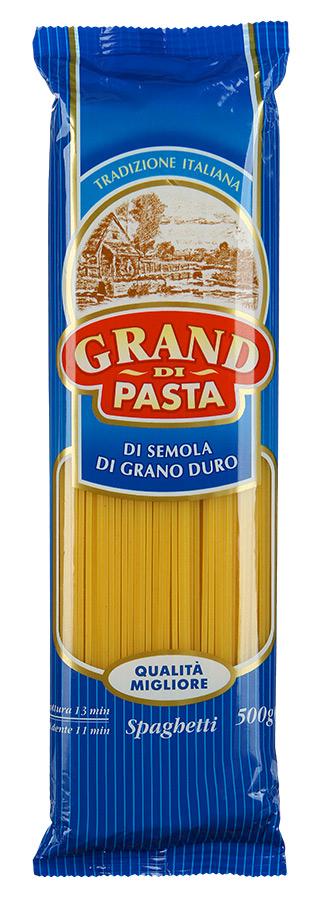 Grand Di Pasta спагетти спагеттини, 500 г0120710Изделия макаронные группы А, высшего сорта.