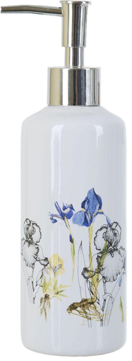 Диспенсер для жидкого мыла ENS Group Ирисы, 300 млZ-0307Диспенсер для жидкого мыла ENS GROUP Ирисы имеет емкость из прочной глазурованной керамики. Металлический дозатор позволяет легко выдавливать нужное количество жидкого мыла. Изделие красиво дополнит интерьер ванной комнаты и создаст особую атмосферу уюта и комфорта.