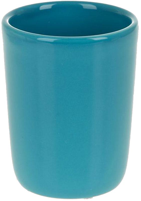 Стакан для ванной White Clean Blue, 200 млUP210DFСтакан для ванной White CLEAN Blue изготовлен из прочной качественной керамики, покрытой глазурью. Изделие предназначено для хранения зубной пасты, бритв и других принадлежностей для гигиены. Такой стакан красиво дополнит интерьер ванной комнаты и отлично сочетается с другими аксессуарами из коллекции Blue.