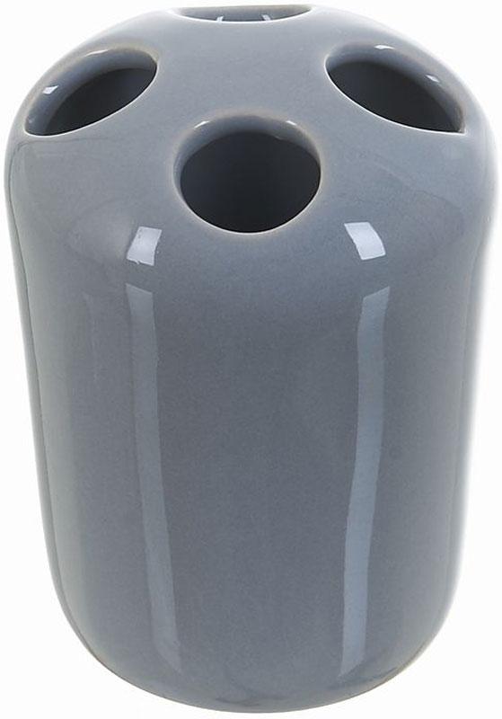 Стакан для зубных щеток White Clean Gray, 250 мл68/5/3Стакан для зубных щеток White CLEAN Gray изготовлен из прочной качественной керамики серого цвета, покрытой глянцевой глазурью. Оснащен отверстиями для зубных щеток. Такой стакан красиво дополнит интерьер ванной комнаты и отлично сочетается с другими аксессуарами из коллекции Gray.