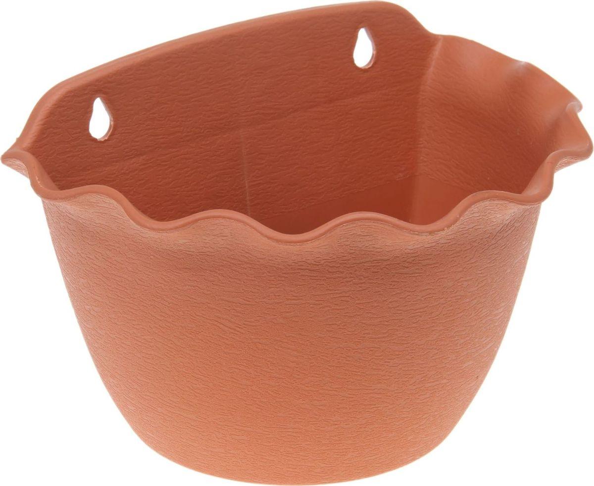 Кашпо Волна, настенное, цвет: коричневый, 4,5 л531-401Любой, даже самый современный и продуманный интерьер будет не завершённым без растений. Они не только очищают воздух и насыщают его кислородом, но и заметно украшают окружающее пространство. Такому полезному члену семьи просто необходимо красивое и функциональное кашпо, оригинальный горшок или необычная ваза! Мы предлагаем - Кашпо настенное 4,5 л Волна, 28х18х18 см, цвет коричневый! Оптимальный выбор материала пластмасса! Почему мы так считаем? -Малый вес. С лёгкостью переносите горшки и кашпо с места на место, ставьте их на столики или полки, подвешивайте под потолок, не беспокоясь о нагрузке. -Простота ухода. Пластиковые изделия не нуждаются в специальных условиях хранения. Их легко чистить достаточно просто сполоснуть тёплой водой. -Никаких царапин. Пластиковые кашпо не царапают и не загрязняют поверхности, на которых стоят. -Пластик дольше хранит влагу, а значит растение реже нуждается в поливе. -Пластмасса не пропускает воздух корневой системе растения не грозят резкие перепады температур. -Огромный выбор форм, декора и расцветок вы без труда подберёте что-то, что идеально впишется в уже существующий интерьер. Соблюдая нехитрые правила ухода, вы можете заметно продлить срок службы горшков, вазонов и кашпо из пластика: -всегда учитывайте размер кроны и корневой системы растения (при разрастании большое растение способно повредить маленький горшок)-берегите изделие от воздействия прямых солнечных лучей, чтобы кашпо и горшки не выцветали-держите кашпо и горшки из пластика подальше от нагревающихся поверхностей. Создавайте прекрасные цветочные композиции, выращивайте рассаду или необычные растения, а низкие цены позволят вам не ограничивать себя в выборе.