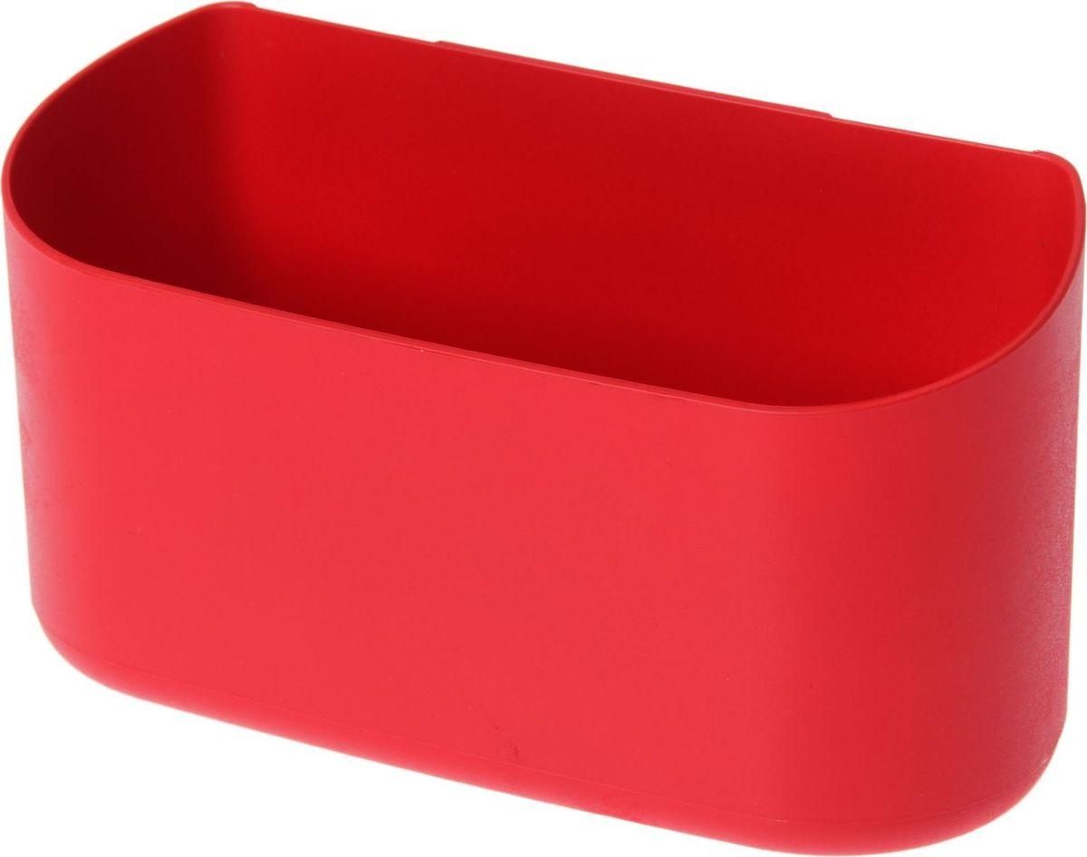Кашпо WallGarden, для фитомодуля, цвет: красный, 21,9 х 8,9 х 9,5 см531-401Фитомодуль — новинка в области вертикального озеленения. Конструкция, как и сборка, предельно проста. Повесьте панель фитомодуля на стену, вставьте кашпо в специальные пазы и готово!Он экономит пространство, презентабельно выглядит и органично дополнит релакс-зону в офисе или дома.При желании вы легко измените композицию, перемещая кашпо или меняя цветы. Разместите в фитомодуле искусственные растения или создайте интерьерную композицию, используя, например, яркие карандаши, фломастеры, игрушки, на что хватит фантазии. Родители маленьких детей оценят, что конструкцию можно разместить высоко, и малыши не смогут «исследовать» её.Станьте флористом, сотворите уникальную композицию!