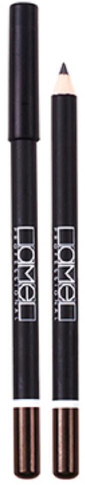 Lamel Professional Карандаш для глаз 118, 1,7 г5010777142037Классический косметический карандаш для глаз от Lamel сочетает в себе особую смесь масел, воска и высокую степень пигментации, создавая мягкую, тонкую, легко растушевываемую линию, которой легко управлять. Результат – шикарный, глубокий и пленительный взгляд.