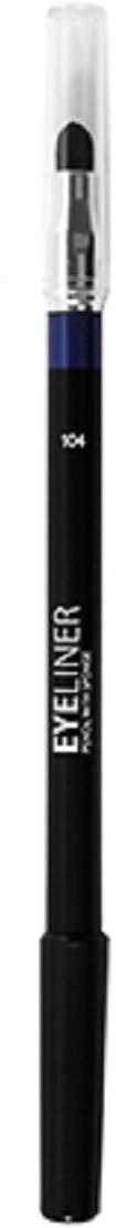 Lamel Professional Карандаш для глаз Eye liner с растушовкой 104, 1,7 г5010777142037Благодаря сочетанию воска, масел и пигментов карандаш для глаз легко и ровно ложится и дает насыщенный цвет. Хорошо растушевываются, и подходит для Smokey eyes.