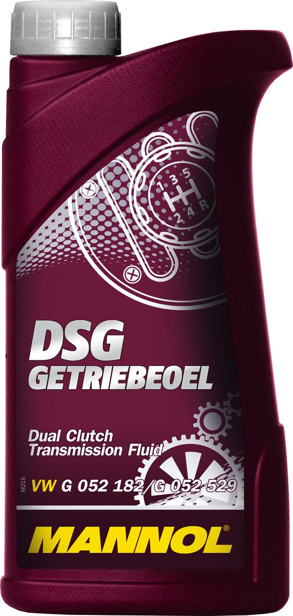 Трансмиссионное масло MANNOL DSG Getriebeoel, синтетическое, 1 лCA-3505Синтетическое трансмиссионное масло, специально разработанное для применения в роботизированных коробках передач с двойным сцеплением автомобилей VW/AUDI (DSG/S-tronic), ZF, BMW (DKG-GETRAG), FORD (POWERSHIFT), PEUGEOT/CITROEN (DCSG) VOLVO, CHRYSLER, DODGE, MITSUBISHI (TC-SST). Современный пакет присадок гарантирует отличные смазывающие свойства при экстремальных нагрузках и резких перепадах температур. Специальные синтетические компоненты в составе масла повышают производительность и надежность работы синхронизаторов, фрикционных муфт, шестерен, гидравлических сервоприводов. Позволяет увеличить срок службы коробок передач с двойным сцеплением. Способствует эффективной экономии топлива,Продукт имеет допуски / соответствует спецификациям: VW/AUDI G 052 182/G 052 529 PSA 9734.S2 FORD WSS-M2C936 VOLVO 1161838/1161839 MB 236.21 (001 989 85 03) PORSCHE 999.917.080.00 BMW 83222148578/83222148579 BMW 83220440214/83222147477 MITSUBISHI MZ320065