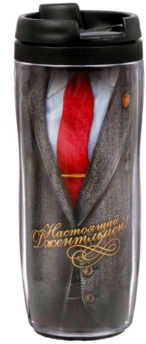 Термостакан Sima-land Настоящий джентльмен. Костюм, 350 млVT-1520(SR)Термостакан 350 мл создан для тех, кто всегда находится в движении. Преподнесите своему близкому такой подарок и он, наслаждаясь любимым напитком, будет вспоминать о вас везде: на работе, отдыхе, в дороге. Особенности:Противоскользящая прокладка на дне.Классическая форма высокого стакана обеспечит удобство использования.Авторский дизайн подчеркнет индивидуальность обладателя.Сменный вкладыш.Такой термостакан — практичный аксессуар и чудесный подарок для себя, друга или коллеги.