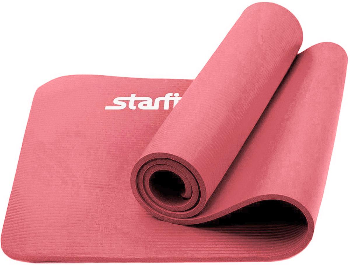 Коврик для йоги Starfit, цвет: розовый, 183 x 58 x 1,2 смХот ШейперсКоврик для йоги Star Fit - это современный, удобный и компактный аксессуар для занятий фитнесом и йогой в группах или домашних условиях. Изделие выполнено из NBR (нитрильный каучук), а не скользящая и мягкая на ощупь поверхность обеспечивает комфорт при выполнении упражнений. В процессе занятий коврик не растягивается и не теряет формы.