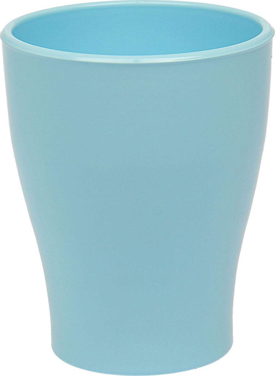 Кашпо Керамика ручной работы, для орхидеи, цвет: голубой, 1,1 л531-401Кашпо серии «Каменный цветок» выполнено из белой глины методом формовки и покрыто лаком. Керамическая ёмкость имеет объём, оптимальный для создания наилучших условий развития орхидей.Устойчивый глубокий поддон защитит поверхность стола или подставки от жидкости.Благодаря строгим стандартам производства изделия отличаются правильной формой, отсутствием дефектов, имеют достаточную тяжесть для надёжной фиксации конструкции.Окраска моделей не восприимчива к прямым солнечным лучам, а в цветовой гамме преобладают яркие и насыщенные оттенки.Красота, удобство и долговечность кашпо серии «Каменный цветок» порадует любителей высококачественных аксессуаров для комнатных растений.