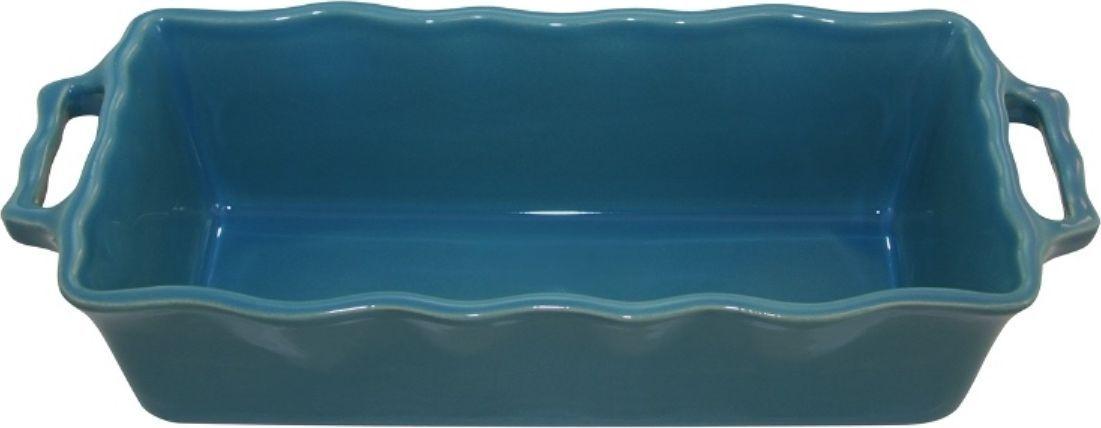 Форма для кекса Appolia Delices, цвет: голубой, 2 л94672Благодаря большому разнообразию изящных форм и широкой цветовой гамме, коллекция DELICES предлагает всевозможные варианты приготовления блюд для себя и гостей. Выбирайте цвета в соответствии с вашими желаниями и вашей кухне. Закругленные углы облегчают чистку. Легко использовать. Большие удобные ручки. Прочная жароустойчивая керамика экологична и изготавливается из высококачественной глины. Прочная глазурь устойчива к растрескиванию и сколам, не содержит свинца и кадмия. Глина обеспечивает медленный и равномерный нагрев, деликатное приготовление с сохранением всех питательных веществ и витаминов, а та же долго сохраняет тепло, что удобно при сервировке горячих блюд.