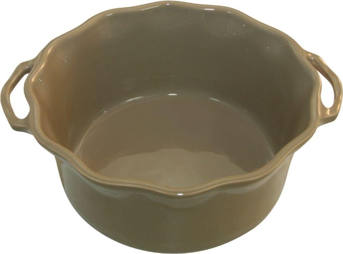 Форма для суфле Appolia Delices, цвет: песочный, 2,2 лCM000001328Благодаря большому разнообразию изящных форм и широкой цветовой гамме, коллекция DELICES предлагает всевозможные варианты приготовления блюд для себя и гостей. Выбирайте цвета в соответствии с вашими желаниями и вашей кухне. Закругленные углы облегчают чистку. Легко использовать. Большие удобные ручки. Прочная жароустойчивая керамика экологична и изготавливается из высококачественной глины. Прочная глазурь устойчива к растрескиванию и сколам, не содержит свинца и кадмия. Глина обеспечивает медленный и равномерный нагрев, деликатное приготовление с сохранением всех питательных веществ и витаминов, а та же долго сохраняет тепло, что удобно при сервировке горячих блюд.