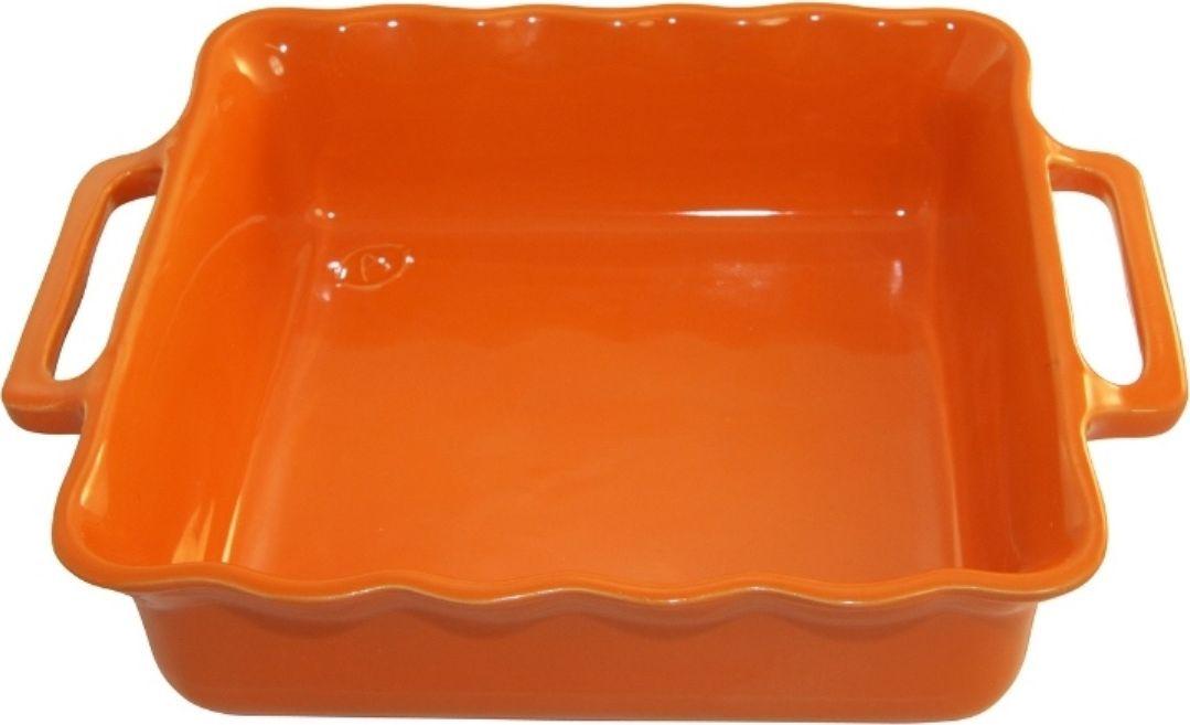 Форма для выпечки Appolia Delices, квадратная, цвет: мандариновый, 1,65 лCM000001328Благодаря большому разнообразию изящных форм и широкой цветовой гамме, коллекция DELICES предлагает всевозможные варианты приготовления блюд для себя и гостей. Выбирайте цвета в соответствии с вашими желаниями и вашей кухне. Закругленные углы облегчают чистку. Легко использовать. Большие удобные ручки. Прочная жароустойчивая керамика экологична и изготавливается из высококачественной глины. Прочная глазурь устойчива к растрескиванию и сколам, не содержит свинца и кадмия. Глина обеспечивает медленный и равномерный нагрев, деликатное приготовление с сохранением всех питательных веществ и витаминов, а та же долго сохраняет тепло, что удобно при сервировке горячих блюд.
