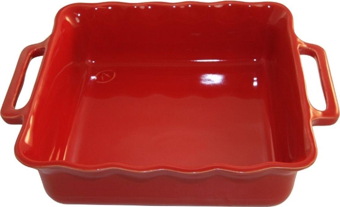 Форма для выпечки Appolia Delices, квадратная, цвет: красный, 3,3 лCM000001328Благодаря большому разнообразию изящных форм и широкой цветовой гамме, коллекция DELICES предлагает всевозможные варианты приготовления блюд для себя и гостей. Выбирайте цвета в соответствии с вашими желаниями и вашей кухне. Закругленные углы облегчают чистку. Легко использовать. Большие удобные ручки. Прочная жароустойчивая керамика экологична и изготавливается из высококачественной глины. Прочная глазурь устойчива к растрескиванию и сколам, не содержит свинца и кадмия. Глина обеспечивает медленный и равномерный нагрев, деликатное приготовление с сохранением всех питательных веществ и витаминов, а та же долго сохраняет тепло, что удобно при сервировке горячих блюд.