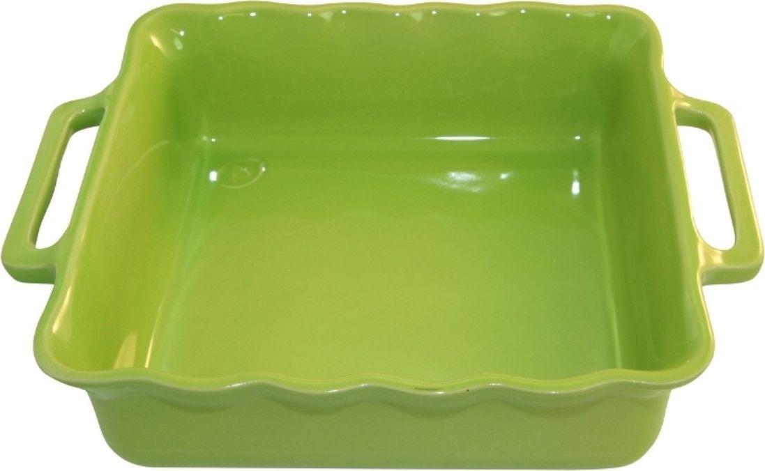Форма для выпечки Appolia Delices, квадратная, цвет: лаймовый, 3,3 л300194_сиреневый/грушаБлагодаря большому разнообразию изящных форм и широкой цветовой гамме, коллекция DELICES предлагает всевозможные варианты приготовления блюд для себя и гостей. Выбирайте цвета в соответствии с вашими желаниями и вашей кухне. Закругленные углы облегчают чистку. Легко использовать. Большие удобные ручки. Прочная жароустойчивая керамика экологична и изготавливается из высококачественной глины. Прочная глазурь устойчива к растрескиванию и сколам, не содержит свинца и кадмия. Глина обеспечивает медленный и равномерный нагрев, деликатное приготовление с сохранением всех питательных веществ и витаминов, а та же долго сохраняет тепло, что удобно при сервировке горячих блюд.