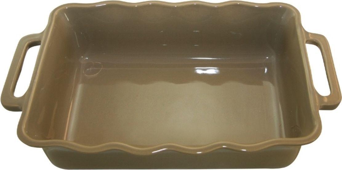 Форма для выпечки Appolia Delices, прямоугольная, цвет: песочный, 1,8 л94672Благодаря большому разнообразию изящных форм и широкой цветовой гамме, коллекция DELICES предлагает всевозможные варианты приготовления блюд для себя и гостей. Выбирайте цвета в соответствии с вашими желаниями и вашей кухне. Закругленные углы облегчают чистку. Легко использовать. Большие удобные ручки. Прочная жароустойчивая керамика экологична и изготавливается из высококачественной глины. Прочная глазурь устойчива к растрескиванию и сколам, не содержит свинца и кадмия. Глина обеспечивает медленный и равномерный нагрев, деликатное приготовление с сохранением всех питательных веществ и витаминов, а та же долго сохраняет тепло, что удобно при сервировке горячих блюд.