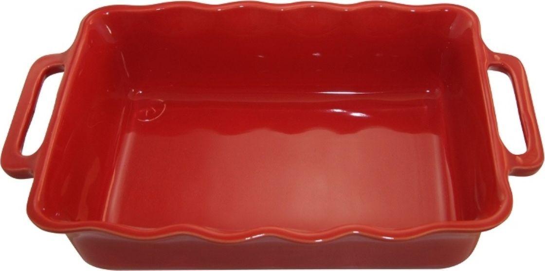 Форма для выпечки Appolia Delices, прямоугольная, цвет: красный, 4 л94672Благодаря большому разнообразию изящных форм и широкой цветовой гамме, коллекция DELICES предлагает всевозможные варианты приготовления блюд для себя и гостей. Выбирайте цвета в соответствии с вашими желаниями и вашей кухне. Закругленные углы облегчают чистку. Легко использовать. Большие удобные ручки. Прочная жароустойчивая керамика экологична и изготавливается из высококачественной глины. Прочная глазурь устойчива к растрескиванию и сколам, не содержит свинца и кадмия. Глина обеспечивает медленный и равномерный нагрев, деликатное приготовление с сохранением всех питательных веществ и витаминов, а та же долго сохраняет тепло, что удобно при сервировке горячих блюд.