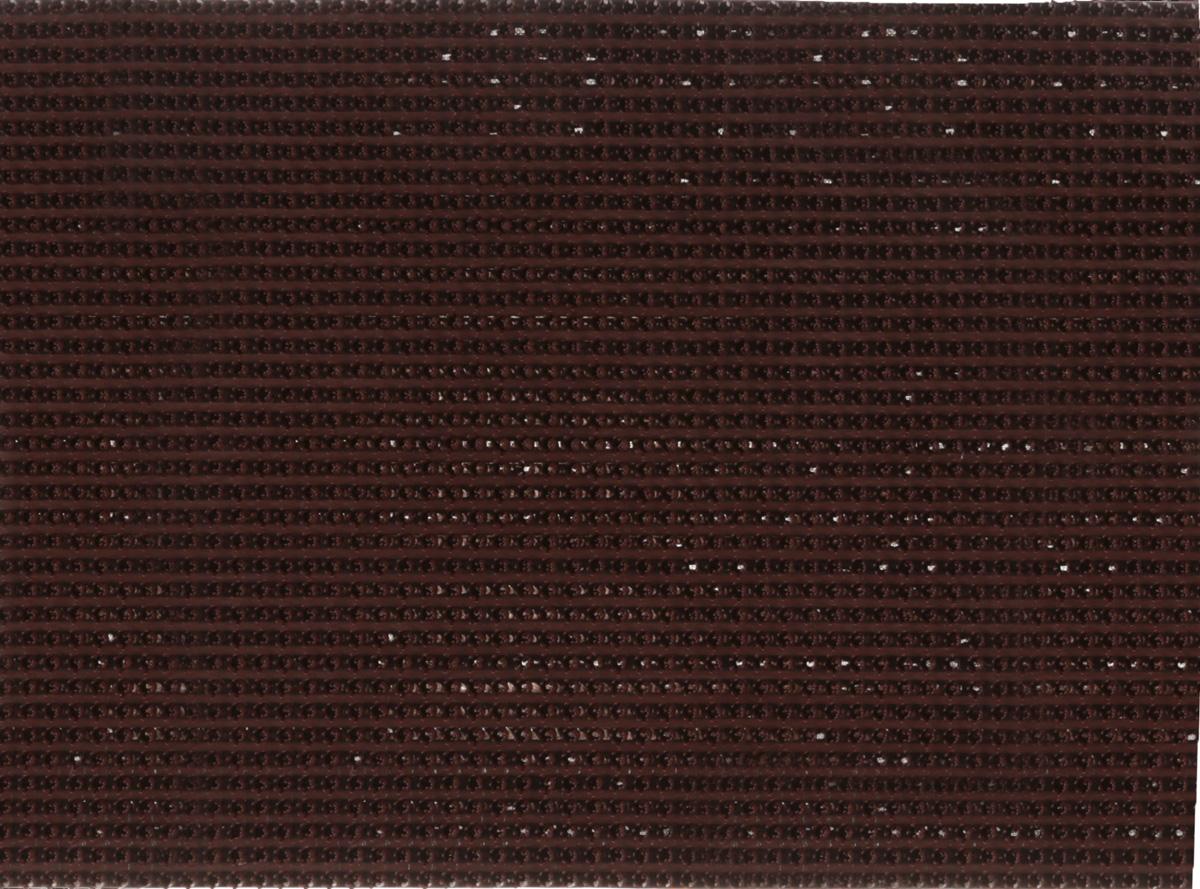 Коврик придверный InLoran, щетинистый, цвет: темный шоколад, 45 х 60 смUP210DFКоврик придверный InLoran выполнен из полиэтилена высокого давления и полипропилена. Изделие обладает щетиной в форме тюльпана, которая эффективно задерживает грязь. Такой коврик надежно защитит помещение от уличной пыли и грязи. Легко чистится и моется.