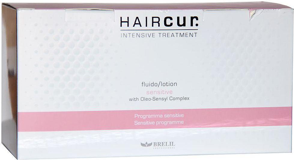 Brelil Hair Cur Sensitive Soothing Lotion Лосьон успокаивающий для чувствительной кожи головы 10 ампул х 6 млБ33041_шампунь-барбарис и липа, скраб -черная смородинаBrelil Hair Cur Sensitive Soothing Lotion Лосьон успокаивающий для чувствительной кожи головы идеально подходит для применения после каких-либо химических процедур и укрепляющего воздействия на волосы и кожу головы. Средство снимает любые покраснения с кожи головы, мгновенно устраняет неприятный зуд, обеспечивает эффективное восстановление гидролипидного баланса кожи и гарантирует эффективный результат уже после первого применения. Лосьон оказывает на волосы и кожу оксидантное и регенерирующее воздействие. Успокаивающий лосьон Brelil Hair Cur великолепно подходит для регулярного применения, имеет приятный запах и максимально удобен в применении. Продукт прошёл дерматологические испытания и не содержит искусственных красителей и ароматизаторов.