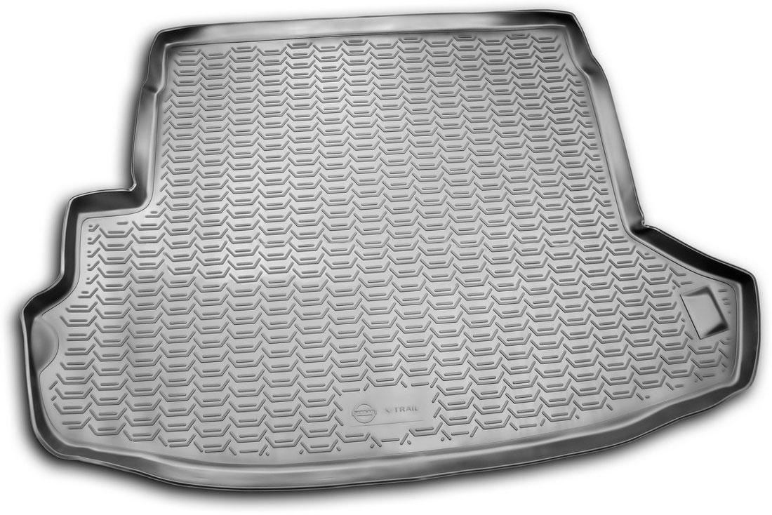 Коврик автомобильный Novline-Autofamily для Nissan X-Trail Т31 кроссовер 2007-2010, 2011-02/2015, в багажник, цвет: черныйVT-1520(SR)Автомобильный коврик Novline-Autofamily, изготовленный из полиуретана, позволит вам без особых усилий содержать в чистоте багажный отсек вашего авто и при этом перевозить в нем абсолютно любые грузы. Этот модельный коврик идеально подойдет по размерам багажнику вашего автомобиля. Такой автомобильный коврик гарантированно защитит багажник от грязи, мусора и пыли, которые постоянно скапливаются в этом отсеке. А кроме того, поддон не пропускает влагу. Все это надолго убережет важную часть кузова от износа. Коврик в багажнике сильно упростит для вас уборку. Согласитесь, гораздо проще достать и почистить один коврик, нежели весь багажный отсек. Тем более, что поддон достаточно просто вынимается и вставляется обратно. Мыть коврик для багажника из полиуретана можно любыми чистящими средствами или просто водой. При этом много времени у вас уборка не отнимет, ведь полиуретан устойчив к загрязнениям.Если вам приходится перевозить в багажнике тяжелые грузы, за сохранность коврика можете не беспокоиться. Он сделан из прочного материала, который не деформируется при механических нагрузках и устойчив даже к экстремальным температурам. А кроме того, коврик для багажника надежно фиксируется и не сдвигается во время поездки, что является дополнительной гарантией сохранности вашего багажа.Коврик имеет форму и размеры, соответствующие модели данного автомобиля.