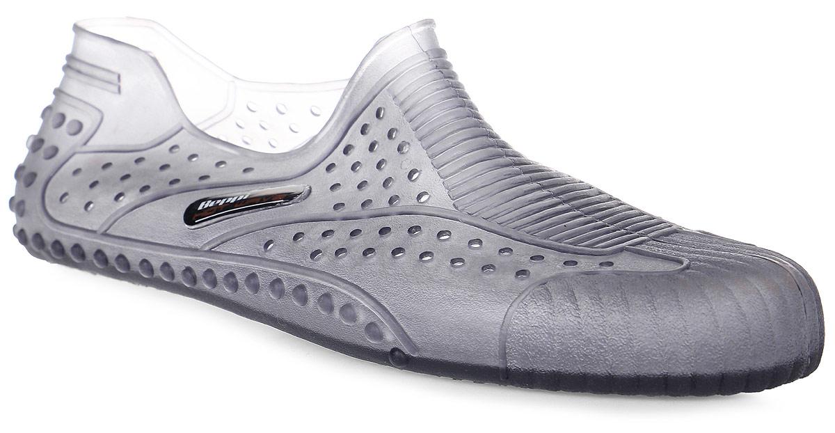 Обувь для кораллов мужская Beppi, цвет: серый. 2155281. Размер 40SHARKS-H8005Обувь для кораллов Beppi предназначена для пляжного отдыха, плавания в открытой воде, а также для любых видов водного спорта. Модель выполнена гибкой безопасной резины с практичными отверстиями. Резиновая подошва удобна и защищает ступни ног при хождении по каменистому дну, а также от горячего песка при хождении по пляжу. Аквашузы очень легкие и быстро сохнут.