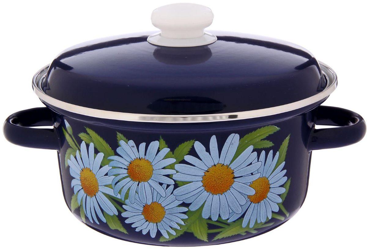 Кастрюля Epos Ромашка, 2 л. 229334294672Эмалированная кастрюля пригодится вам для быстрого приготовления разных типов блюд. Такая посуда подходит для домашнего и профессионального использования.Достоинства:посуда быстро и равномерно нагревается;корпус стоек к ржавчине;изделие легко отмывается в посудомоечной машине.Благодаря приятным цветам кастрюля удачно впишется в любой дизайн интерьера. Наилучшее качество покрытия достигается за счёт того, что посуда проходит обжиг при температуре до 800 градусов.Чтобы предмет сохранял наилучшие эксплуатационные свойства, соблюдайте правила ухода:избегайте ударов и падений;не пользуйтесь высокоабразивными чистящими средствами;не допускайте резких перепадов температуры.Посуда подходит для долговременного хранения пищи.