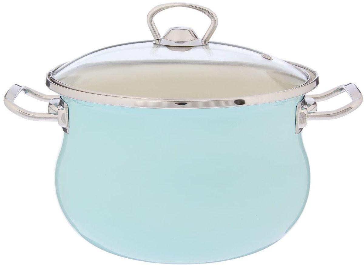 Кастрюля Epos Бирюзовая, с крышкой, 3,5 л94672Эмалированная кастрюля пригодится вам для быстрого приготовления разных типов блюд. Такая посуда подходит для домашнего и профессионального использования.Кастрюля цилиндрическая — помощь на кухне на долгие годы.Достоинства:посуда быстро и равномерно нагревается;корпус стоек к ржавчине;изделие легко отмывается в посудомоечной машине.Благодаря приятным цветам кастрюля удачно впишется в любой дизайн интерьера. Наилучшее качество покрытия достигается за счёт того, что посуда проходит обжиг при температуре до 800 градусов.Чтобы предмет сохранял наилучшие эксплуатационные свойства, соблюдайте правила ухода:избегайте ударов и падений;не пользуйтесь высокоабразивными чистящими средствами;не допускайте резких перепадов температуры.Посуда подходит для долговременного хранения пищи.