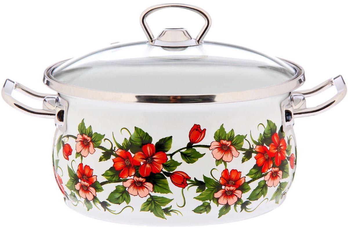 Кастрюля Epos Бисер, с крышкой, 2,5 лCM000001328Эмалированная кастрюля пригодится вам для быстрого приготовления разных типов блюд. Такая посуда подходит для домашнего и профессионального использования.Достоинства:посуда быстро и равномерно нагревается;корпус стоек к ржавчине;изделие легко отмывается в посудомоечной машине.Благодаря приятным цветам кастрюля удачно впишется в любой дизайн интерьера. Наилучшее качество покрытия достигается за счёт того, что посуда проходит обжиг при температуре до 800 градусов.Чтобы предмет сохранял наилучшие эксплуатационные свойства, соблюдайте правила ухода:избегайте ударов и падений;не пользуйтесь высокоабразивными чистящими средствами;не допускайте резких перепадов температуры.Посуда подходит для долговременного хранения пищи.